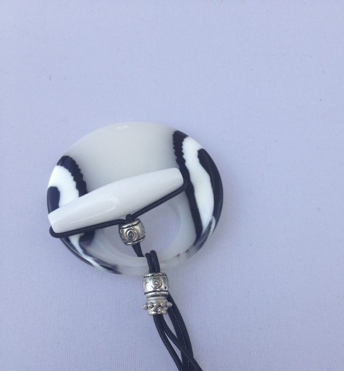 Black and White Hair Tie