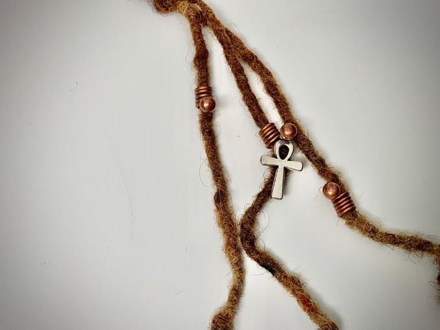 ankh loc jewelry copper set