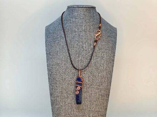 Lapis lazuli necklace jewelry for women