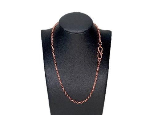 pure copper chain necklace jewelry