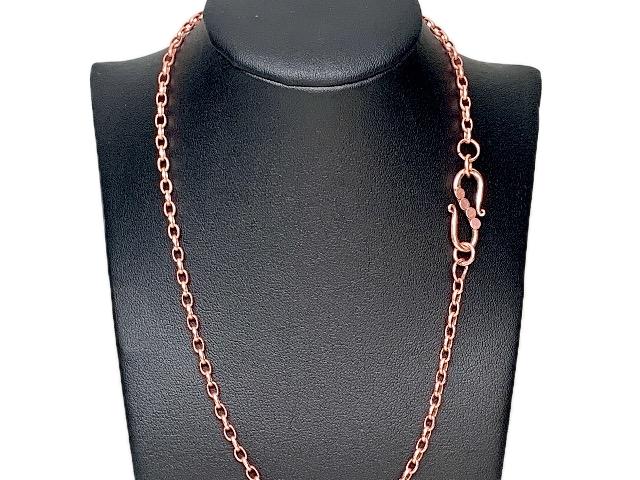 genuine copper chains