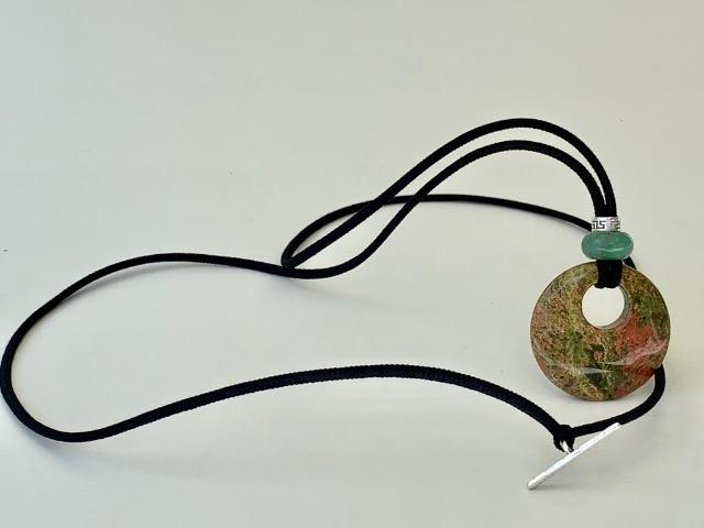 Natural Unakite and Green Aventurine is sisterlocks jewelry